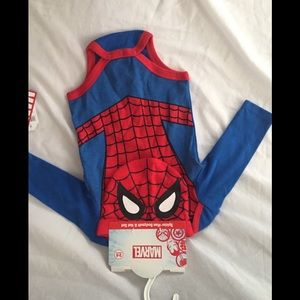 NEW SPIDER-MAN COSTUME 3-6M HALLOWEEN HAT BODYSUIT